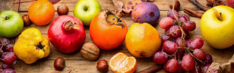 Conoce las frutas de otoño y sus propiedades nutricionales