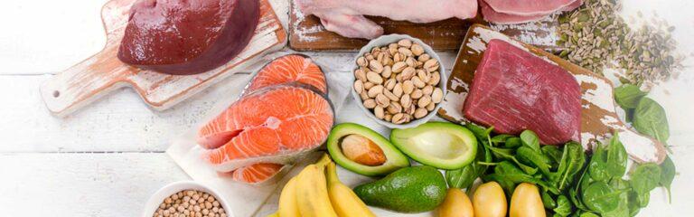 Las vitaminas hidrosolubles se encuentran en las zonas del cuerpo con más agua